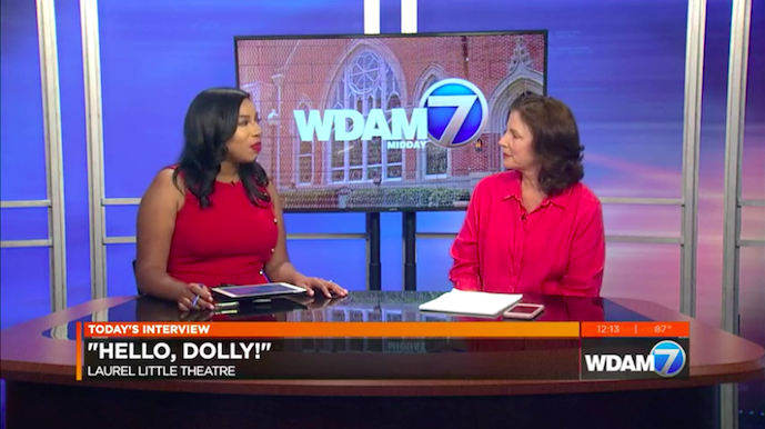 WDAM Interview for Hello Dolly