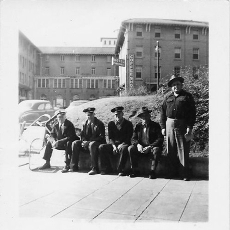1950s Firemen In Front Of The Pinehurst.jpeg